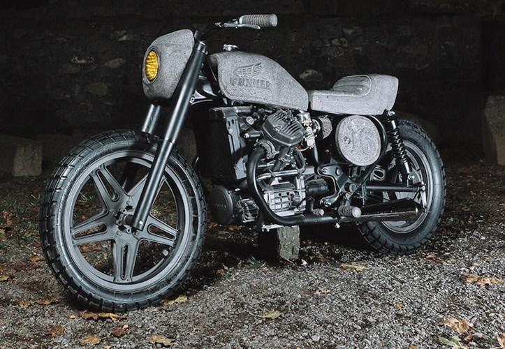 Ngam 'hang hiem' moto Honda CX500 do 100% tu da bazan hinh anh 7