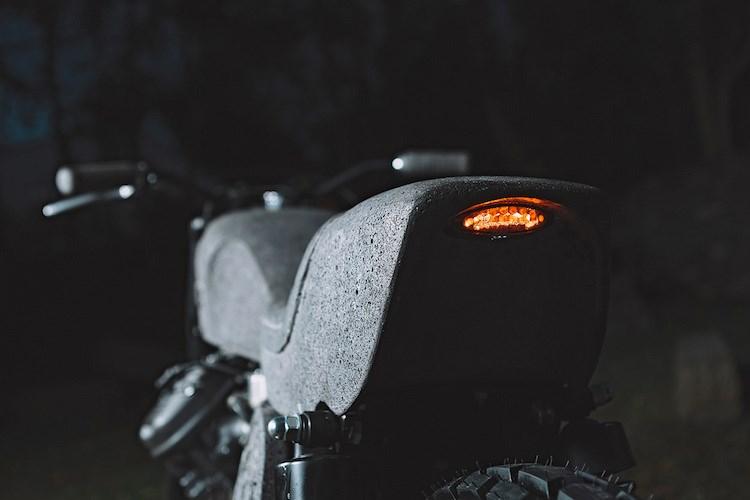 Ngam 'hang hiem' moto Honda CX500 do 100% tu da bazan hinh anh 9