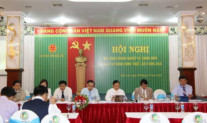 Nganh Thue Dak Lak doi thoai voi 400 doanh nghiep hinh anh 1