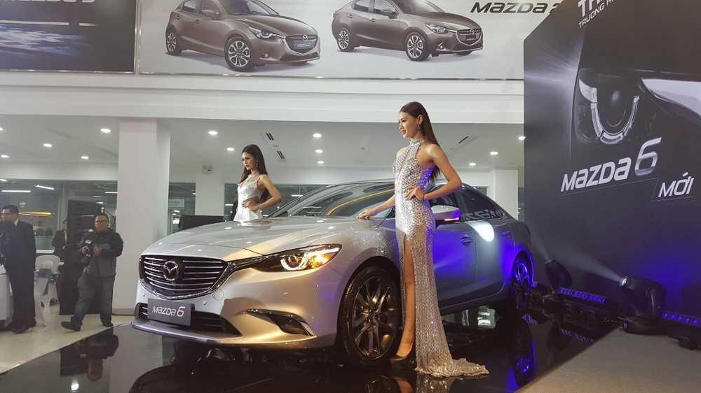 Mazda6 moi 'chot' gia tu 975 trieu dong hinh anh 1