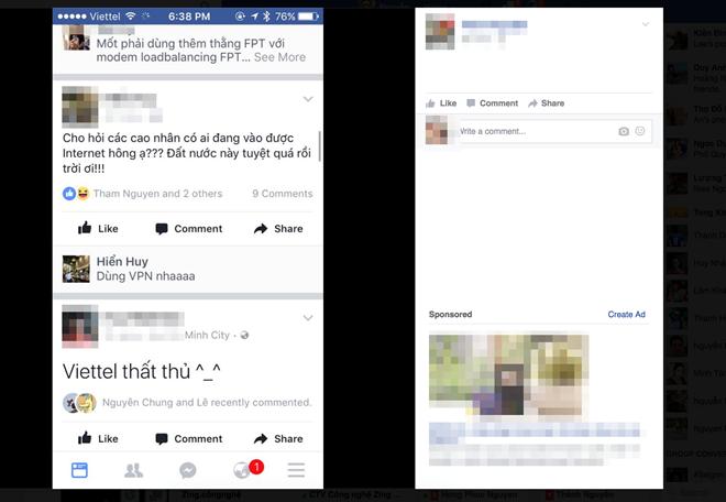 Nhieu thue bao Viettel khong truy cap duoc Google, Facebook hinh anh 1