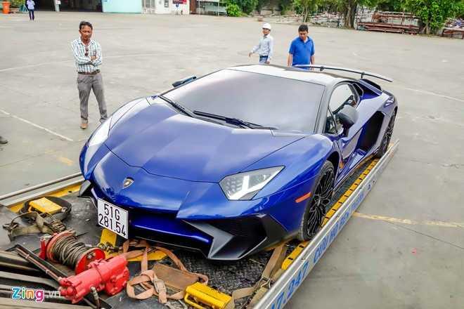 Sieu xe Lamborghini Aventador LP750 SV 35 ty cua Minh Nhua ra bien trang hinh anh 5