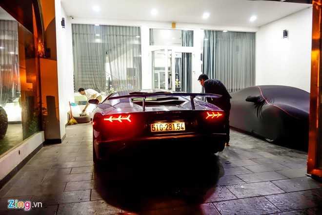 Sieu xe Lamborghini Aventador LP750 SV 35 ty cua Minh Nhua ra bien trang hinh anh 7