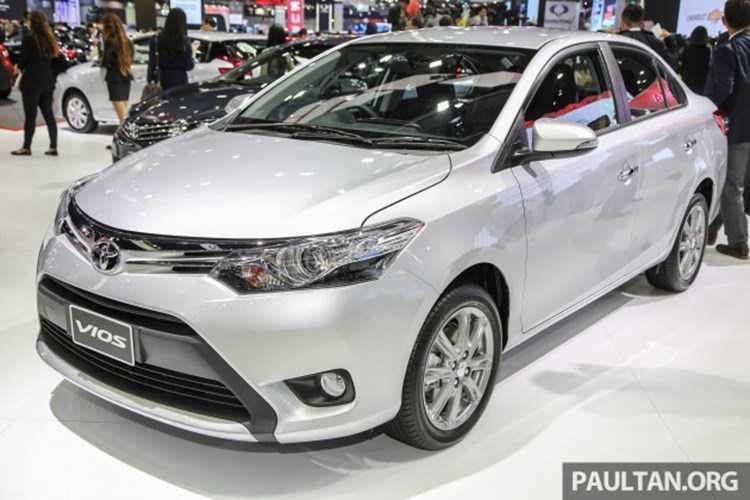 Toyota Vios 2016 'chot gia' tu 415 trieu dong hinh anh 1