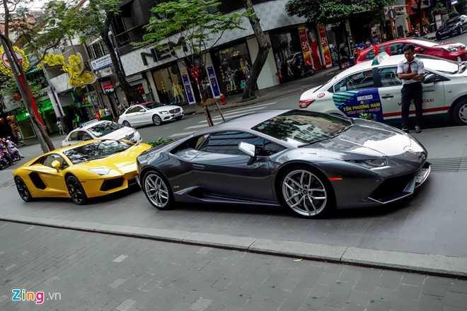 Cuong Do La va dan dai gia Sai Gon choi Tet bang Lamborghini hinh anh 5