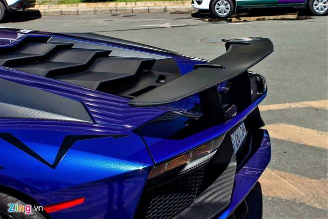 Minh Nhua dao pho Sai Gon bang sieu xe Lamborghini Aventador 35 ty hinh anh 5