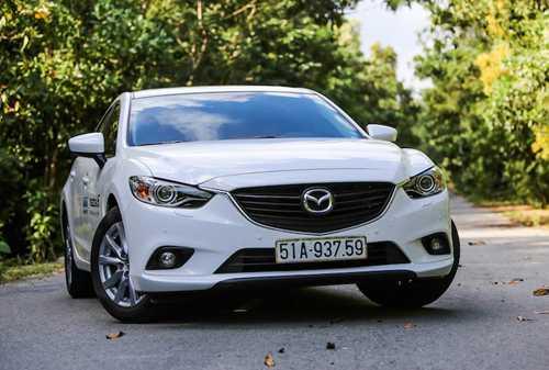 Mazda6 tiep tuc giam gia sau dau 2017 tai Viet Nam hinh anh 1