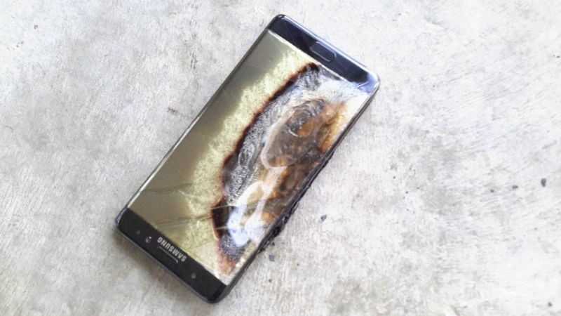Chuoi ngay u am cua Samsung: Galaxy Note 7 no, 'Thai tu' bi bat hinh anh 1