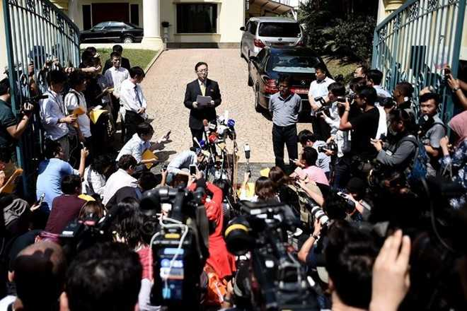 Nghi pham co thu o su quan Trieu Tien, nghi an Kim Jong-nam gap kho hinh anh 1
