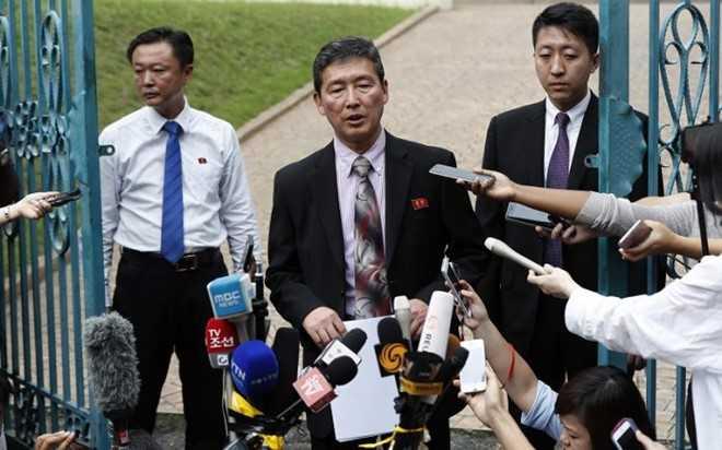 Trieu Tien khang dinh nguoi nghi la Kim Jong-nam chet vi dau tim hinh anh 1