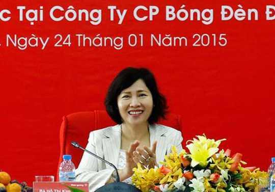 Bo Tai chinh ly giai viec ba Ho Thi Kim Thoa nam giu co phan Dien Quang hinh anh 1