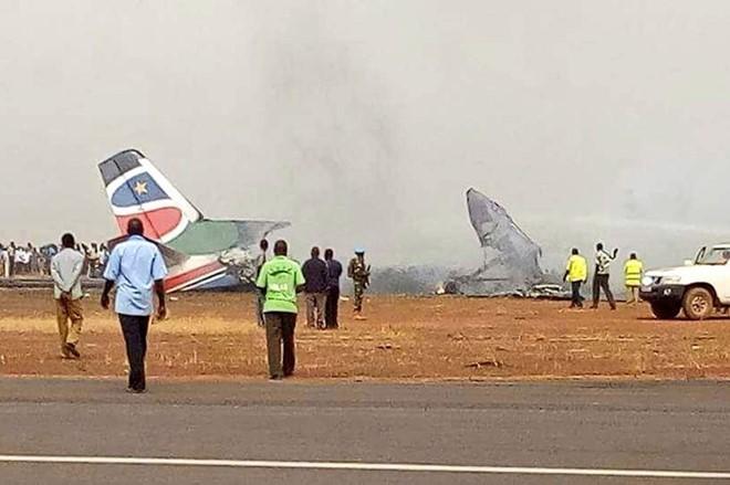 May bay cho 44 nguoi roi o Nam Sudan hinh anh 1
