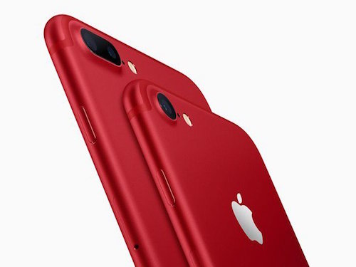 iPhone 7 va iPhone 7 Plus mau do lo dien an tuong hinh anh 1