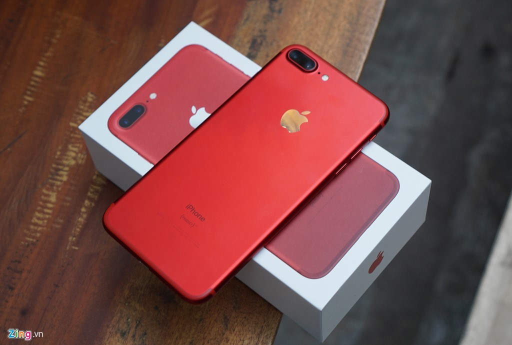 iPhone 7 mau do chinh hang gia tu 20,9 trieu dong o Viet Nam hinh anh 1