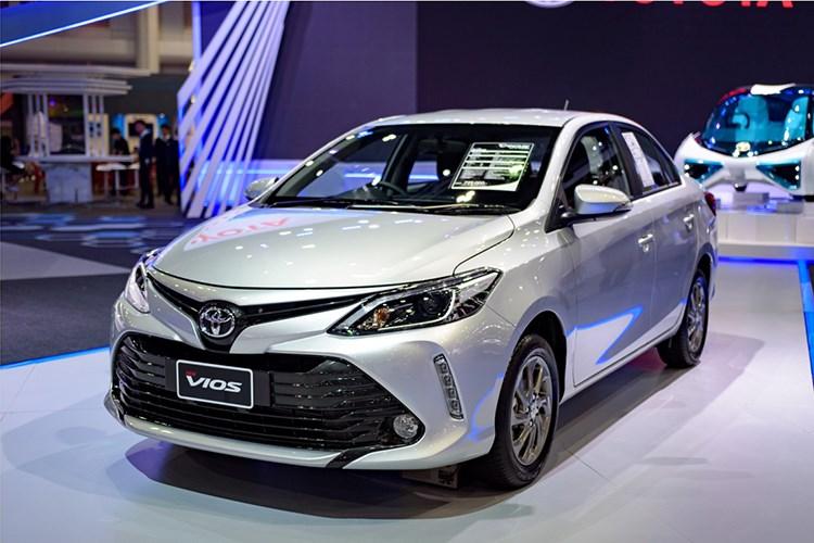 Toyota Vios 2017 gia sieu re chi tu 390 trieu dong hinh anh 1
