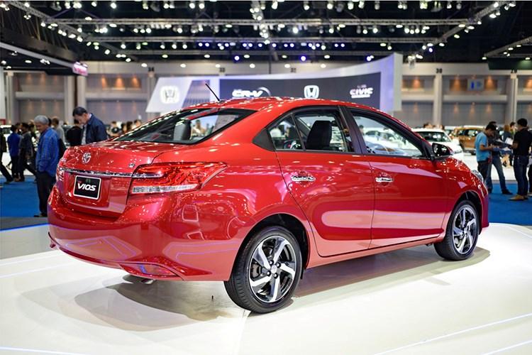 Toyota Vios 2017 gia sieu re chi tu 390 trieu dong hinh anh 4