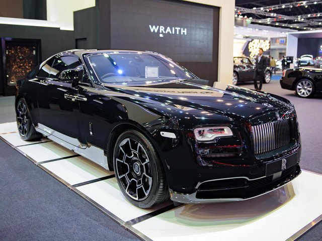 Rolls-Royce Wraith Black Badge gia 23 ty dong hinh anh 1
