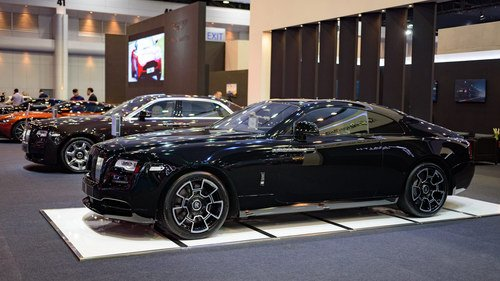 Rolls-Royce Wraith Black Badge gia 23 ty dong hinh anh 2