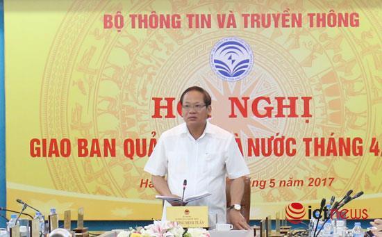 Bo truong Truong Minh Tuan: Ngan chan thong tin sai su that tren mang hinh anh 1