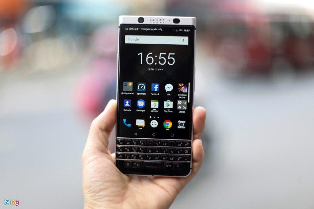 Ngam BlackBerry KeyOne gia 19 trieu dong o Viet Nam hinh anh 3