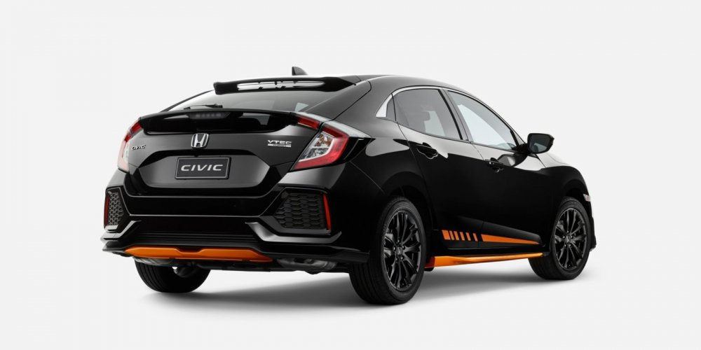 Lo dien Civic Orange Edition dep sang trong hinh anh 2