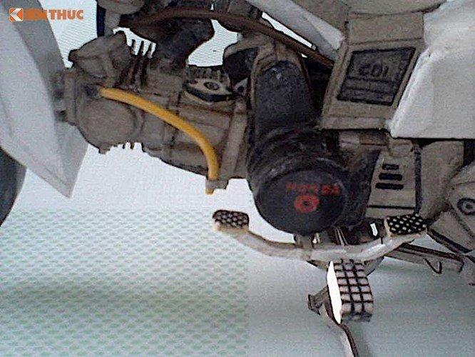 Ngo ngang Honda Dream II lam tu 'giay vun' tai Viet Nam hinh anh 4