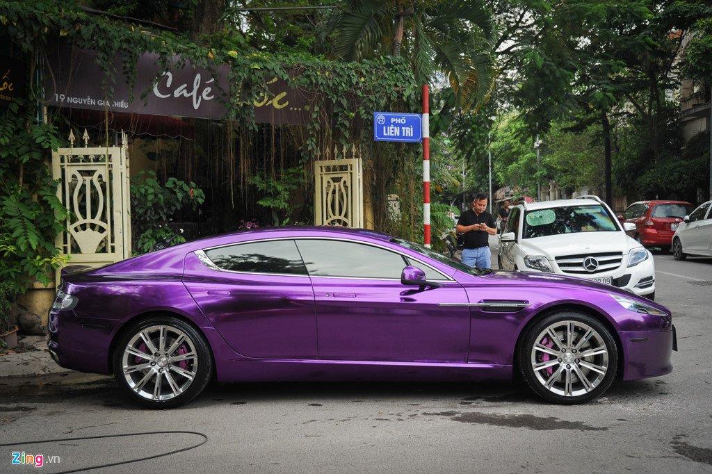 Aston Martin Rapide S mau doc nhat Viet Nam, gia hon 10 ty dong hinh anh 2