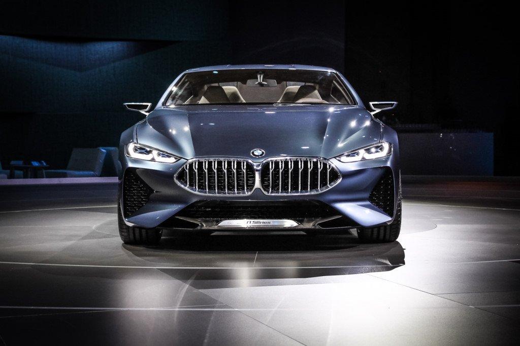 Anh thuc te sieu xe BMW 8-Series Concept moi ra mat hinh anh 4