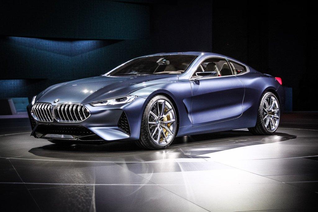 Anh thuc te sieu xe BMW 8-Series Concept moi ra mat hinh anh 3
