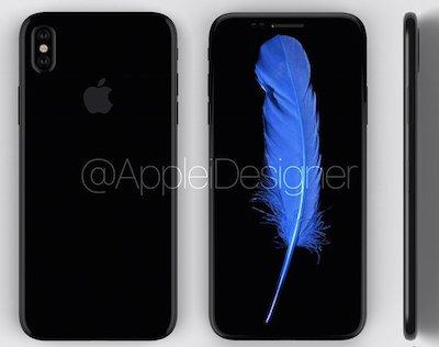 iPhone 8 se co man hinh OLED dai nhu Samsung Galaxy S8 hinh anh 1