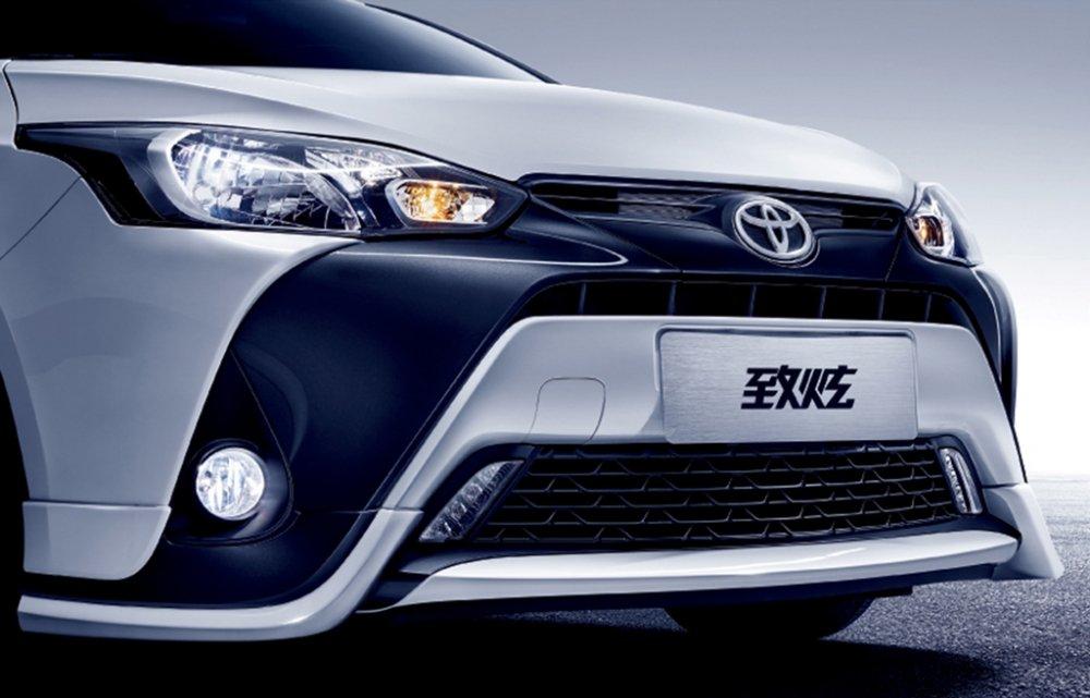 Toyota Yaris 2017 chot gia chi tu 303 trieu dong hinh anh 7