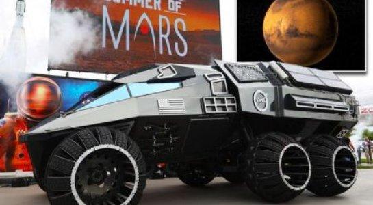 NASA cong bo xe tham hiem sao Hoa giong sieu xe cua Batman hinh anh 1