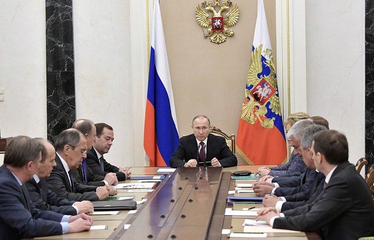 My tan cong Syria: Tong thong Putin trieu tap Hoi dong an ninh Lien bang hinh anh 1