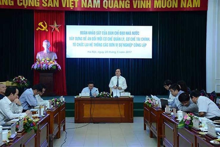 Thi diem khong con bien che giao vien: 'Muc tieu chinh khong phai la giam bien che' hinh anh 1