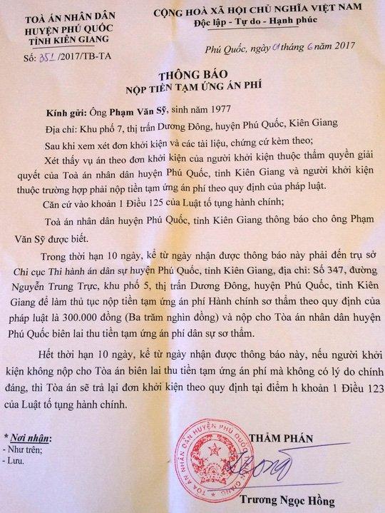 Khong dong y quyet dinh xu phat, dam don kien Truong Cong an huyen Phu Quoc hinh anh 2