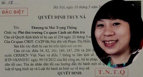 Truy na nu doanh nhan bi giam doc Trung Quoc 'giat day' huy dong von lap cong ty, chiem doat tai san hinh anh 1