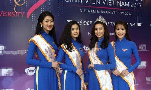 Nu sinh song thu khong duoc du thi 'Hoa khoi sinh vien Viet Nam' hinh anh 1