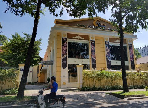Phong tap Gym hoanh trang trong khuon vien truong Marie Curie hinh anh 1