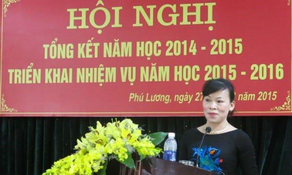 Thai Nguyen: Ky thua hang tram hop dong giao vien, nhung nguoi lien quan chi 'kiem diem sau sac' hinh anh 1