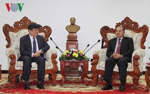 Lanh dao Lao danh gia cao vai tro vi tri cua Dai Tieng Noi Viet Nam hinh anh 3