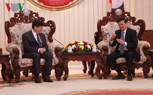 Lanh dao Lao danh gia cao vai tro vi tri cua Dai Tieng Noi Viet Nam hinh anh 1
