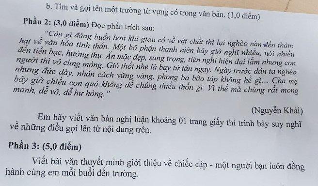 De Ngu van qua tam: Phong GD&DT quan 3 len tieng hinh anh 1