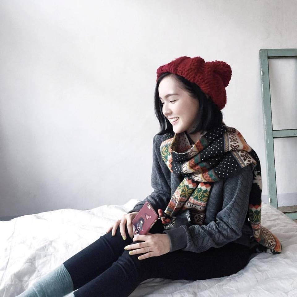 Hot girl Viet phoi do Giang sinh cuc xinh tu nhung phu kien don gian hinh anh 9