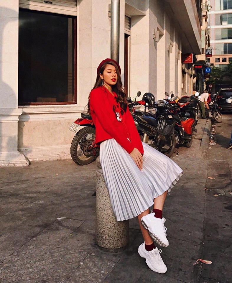 Hot girl Viet phoi do Giang sinh cuc xinh tu nhung phu kien don gian hinh anh 10