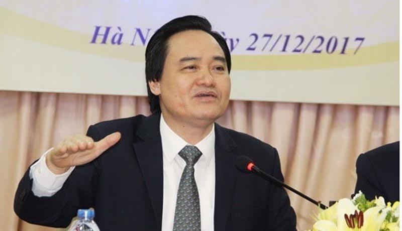 Bo truong Phung Xuan Nha giai bai toan sinh vien su pham that nghiep nam 2018 hinh anh 1
