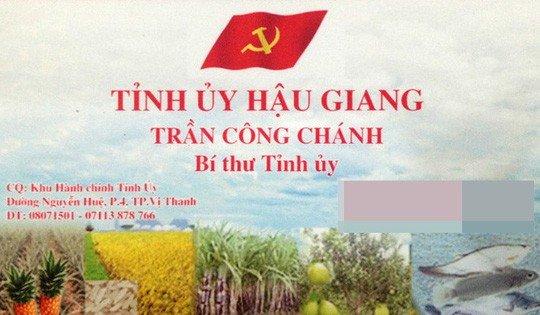 Bi thu Hau Giang chinh thuc nghi huu truoc tuoi hinh anh 2