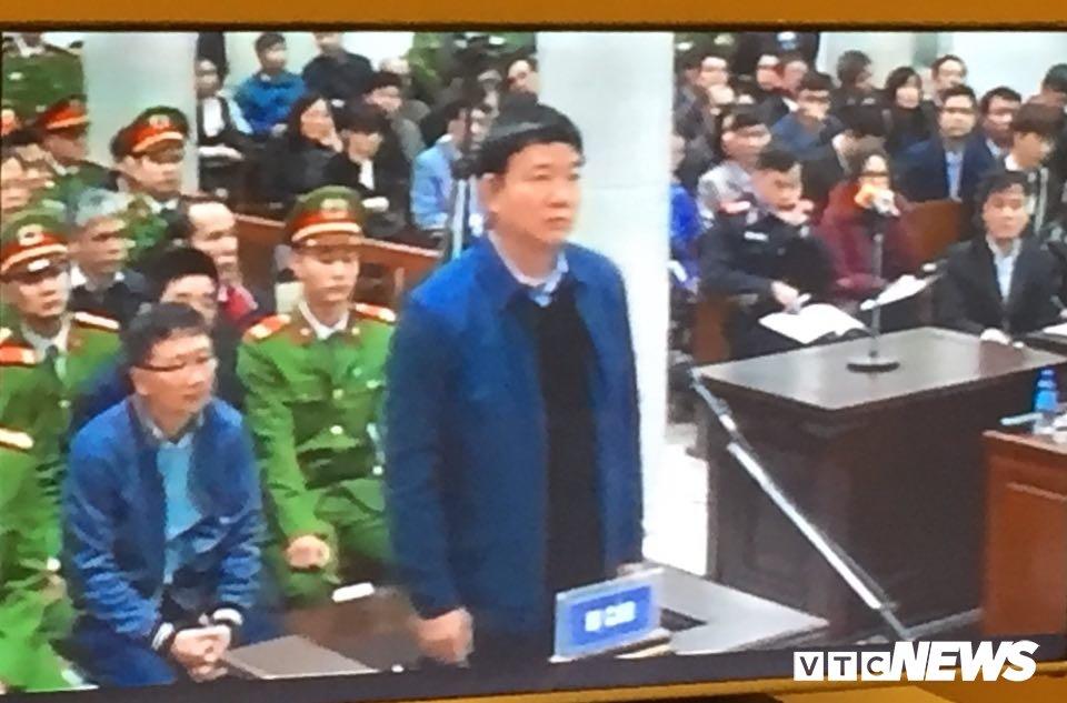 Ong Dinh La Thang, Trinh Xuan Thanh binh tinh tra loi truoc toa hinh anh 8