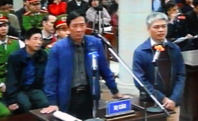 Bị cáo Vũ Hồng Chương (65 tuổi, nguyên Trưởng ban quản lý dự án điện lực Dầu khí Thái Bình 2)