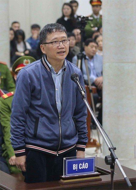 Tham van ong Dinh La Thang, Trinh Xuan Thanh: Nguoi binh tinh doi chat, nguoi cang thang tra loi hinh anh 2