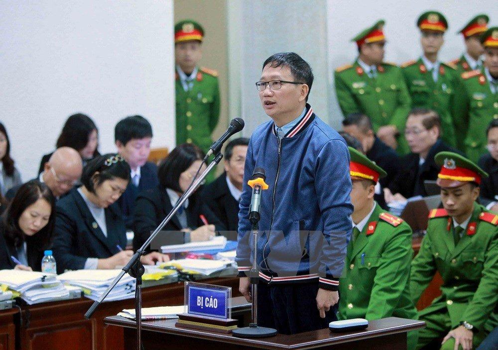 Trinh Xuan Thanh khai khong duoc an chia 1,5 ty dong chi 'ngoai giao' hinh anh 1